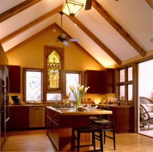 小户型厨房吧台