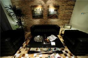 长方形客厅家具图片欣赏