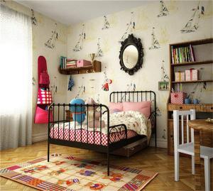 儿童房装修效果图男孩女孩