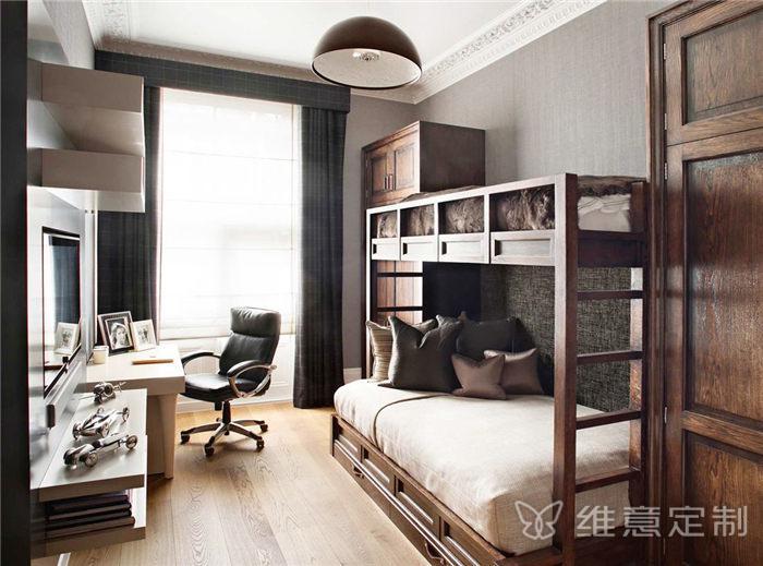 家居小�P室高低床�b修效果�D