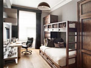 家居小卧室高低床装修效果图