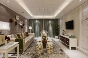 客厅电视墙效果图的设计装