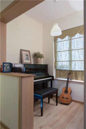 阳台改造效果图改造成钢琴