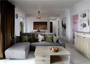小户型家装样板间客厅定制
