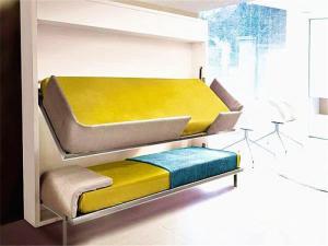 创意收纳省空间的隐形床