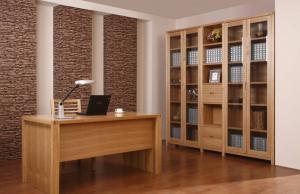 书房搭配立式书柜