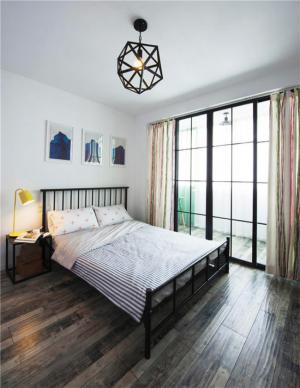 铁艺卧室双人床
