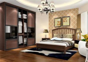 卧房衣柜装饰