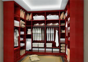 实木衣帽间整体衣柜