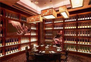 新中式酒柜效果图大全20