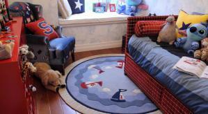 小户型硅藻泥儿童房效果图