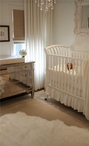 儿童房家装样板间婴儿实拍