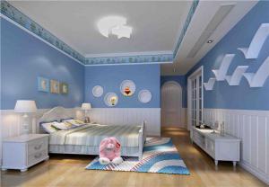 儿童房设计与装修哪个颜色