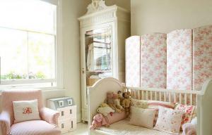 创意儿童房女宝宝婴儿房