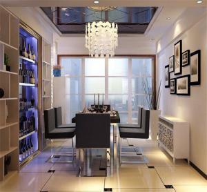 现代风格酒柜免费设计
