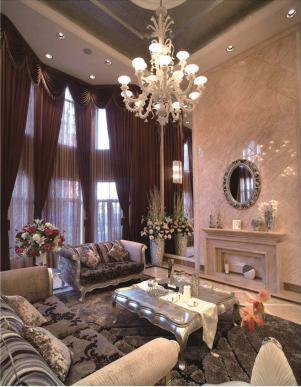 美式客厅家具设计