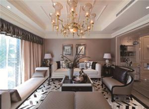 现代客厅组合沙发