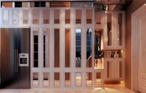 小户型卧室隔断柜