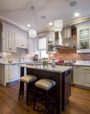 厨房吧台样板间