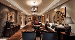 长方形客厅家具图片大全