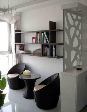 阳台书房装修效果图改造设计装修
