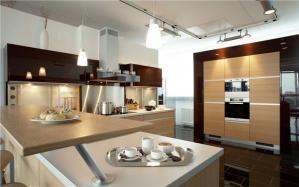 开放式厨房橱柜最新款