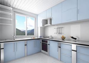 金属不锈钢厨房橱柜