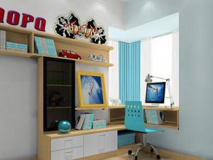 飘窗书桌飘窗台设计