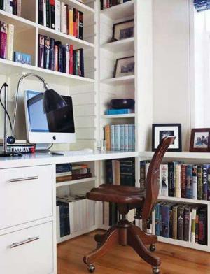 小书房书柜效果图