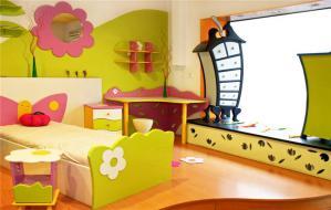 创意儿童房单人床