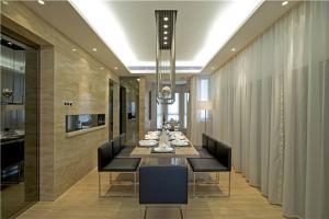 新古典小户型客厅餐桌
