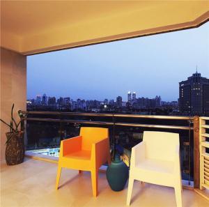 高层阳台装饰