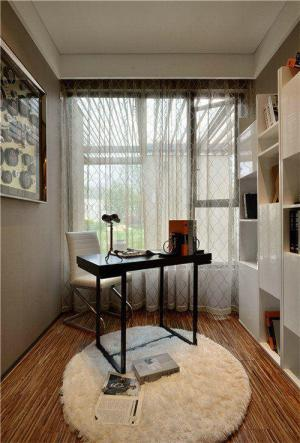 小户型60平米装修书房订