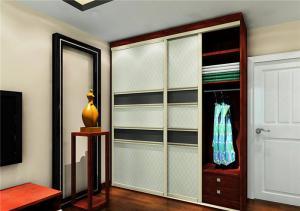欧式卧室整体衣柜