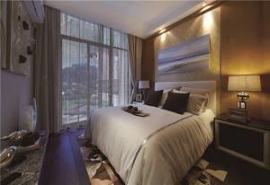 小清新卧室飘窗设计