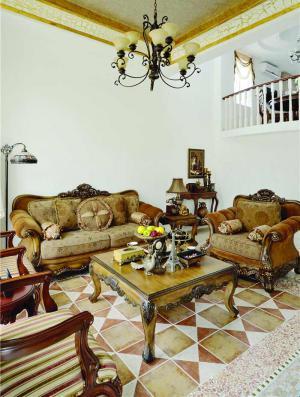美式小户型客厅家具