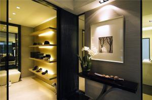 家庭装修玄关效果图室内鞋