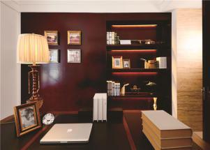 古典书房装修效果图尺寸规格