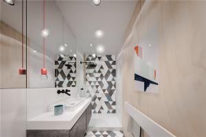 小户型家庭装修卫浴室设计