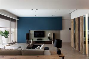 内嵌式电视墙装修效果图