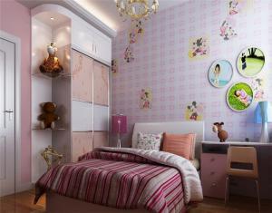 儿童房布置背景墙选择