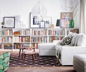矮书柜设计实景图