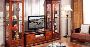 客厅新中式酒柜