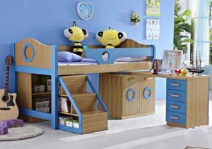 个性儿童床书桌