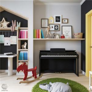 儿童卧室书桌