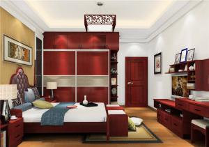 创意卧室整体衣柜