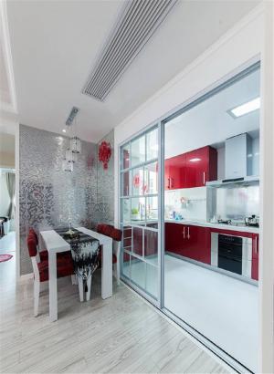 厨房隔断柜图片欣赏