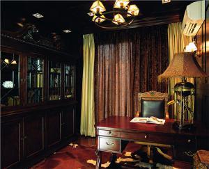 欧式书房装修效果图欧式家具摆放