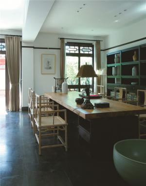 家庭书房装修效果图工作室设计