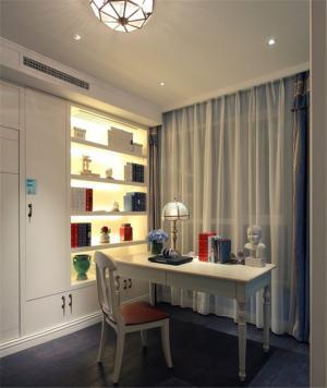现代书房装修效果图家具用品